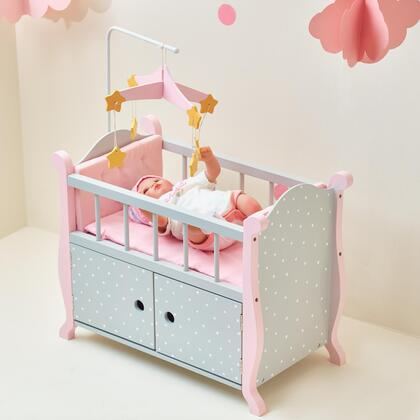 Click here for TD0206AG Baby Doll Furniture - Nursery Crib Bed wi... prices