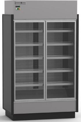 KGVMR2S High Volume Grab-N-Go Case with 2 Doors  37.63 cu. ft. Capacity  5/8 HP  Front and Rear Loading Doors  in