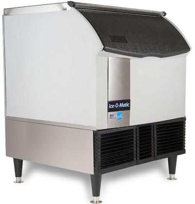 ICEU300FA Self-Contained Full Cube Ice Machine with Air Condensing Unit  Integrated Storage  Superior Construction  Cuber Evaporator  Harvest Assist and