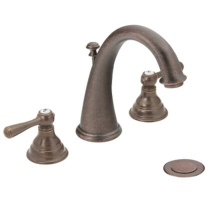 T6125ORB Kingsley Two-handle High Arc Bathroom Faucet in Oil Rubbed