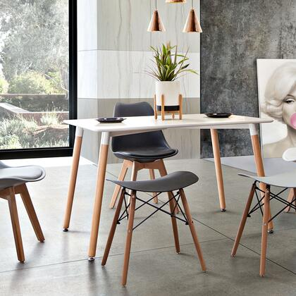 ARCHIESTBL2PK_Archie_Collection_Stool_Chair_(Set_of_2)_with_Black_Formed_Polypropylene__Beech_Legs_and_Steel_Tubing__in