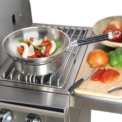 AG-WOK 14 Professional Wok with Handle for Use on Side Burner or 56