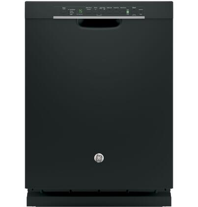 "GE 24"" Tall Tub Built-In Dishwasher Black GDF650SGJBB"
