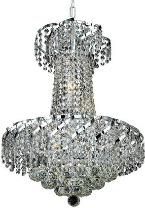 VECA1D18C/RC Belenus Collection Pendant Ceiling Light D:18In H:22In Lt:6 Chrome Finish (Royal Cut