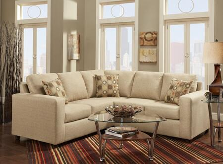193850-sec-vb Celine 2 Pc Sectional With  Left Arm Facing Sofa  Right Arm Facing Loveseat  Toss Pillows And Fabric Upholstery In Vivid