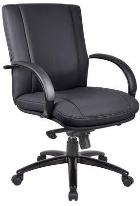 AELE65B Aaria Series Mid Back Office Chair with Knee-Tilt