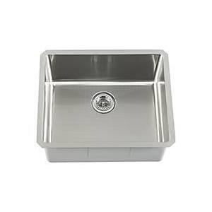 SCRASB231916 All-in-One Undermount Stainless Steel 21x17x10 0-Hole Single Bowl Kitchen
