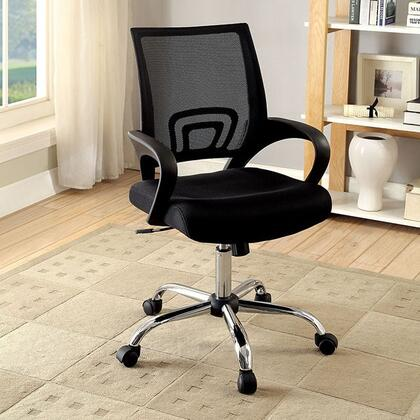 Ciel CM-FC627 Office Chair with Contemporary Style  Armrests  Mesh Back and Cushion Seat  Adjustable Height in