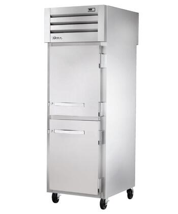 STA1FPT-2HS-2HS Spec Series Pass-Thru Freezer with 34 Cu. Ft. Capacity  LED Lighting  and Solid Half