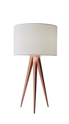 6423-20 Director Table Lamp  Brushed Copper