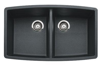 440069 Performa Silgranit Equal Double Bowl Kitchen Sink In