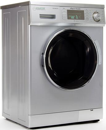 Equator 1.6 Cu. Ft. 7-Cycle Washer and 7-Cycle Dryer Combo Silver EZ 4000 CV SILVER