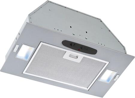 "Broan - 20.5"" Externally Vented Range Hood - Silver PME300"