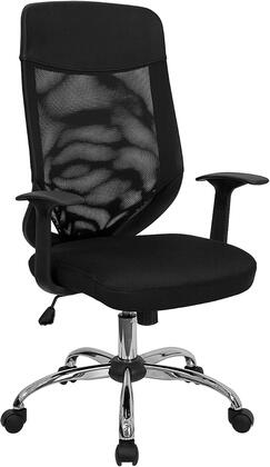 LF-W952-GG High Back Mesh Office Chair with Mesh Fabric