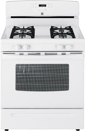 74032 30 Freestanding Gas Range with 4 Burners  5 cu. ft. Oven Capacity  Storage Drawer and Self-Cleaning Oven in