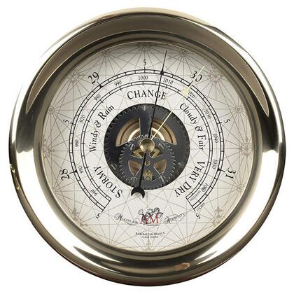 SC041 Captain's Barometer  Large with Brass Material  in