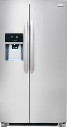 Series 26 cu. ft. Side-by-Side Refrigerator Finish: White FGHS2631PF
