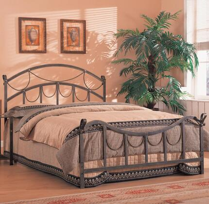 300021Q Coaster Whittier Queen Iron Bed in Antique Brass Metal
