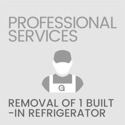 Removal of 1 Built-In