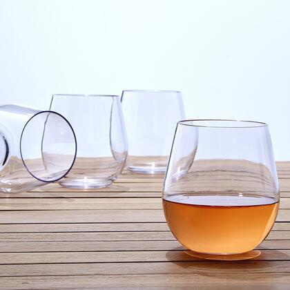 07660504 Indoor/Outdoor Wine Tumblers(Set of