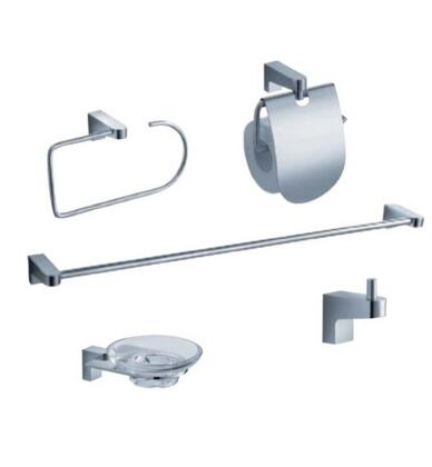 FAC2300 Fresca Generoso 5-Piece Bathroom Accessory Set -