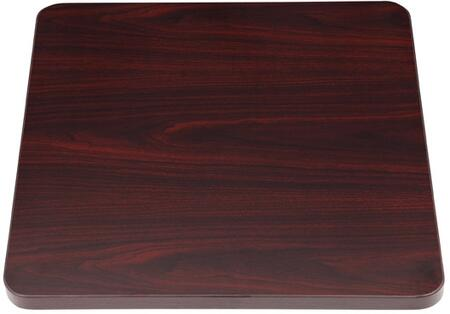 N6ST-M 19 inch  x 19 inch  Side  Spacer Table in Mahogany