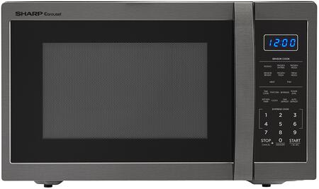 Smc1452ch Countertop Microwave With 1.4 Cu. Ft. Capacity  1100 Watts  10 Power Levels  12.4 Turntable  In Black Stainless