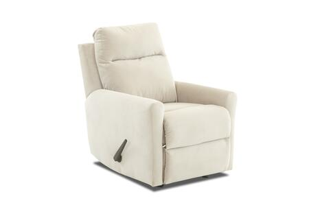 Ikon Collection 91603H-RRC-TO 29 inch  Rocking Reclining Chair with Foam Seat & Back Cushions  Track Arms and Single Chair Cushion in Tina