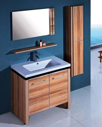 Click here for WTH0932 Sink Vanity With Mirror and Side Cabinet -... prices