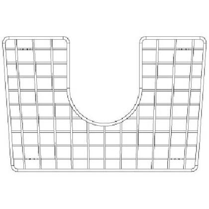 226830 Stainless Steel Grid Performa Silgranit Ii 1.75 Medium 1.75