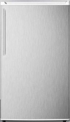 Summit FF412ESSSHVADA 19 Inch Freestanding Compact Refrigerator with 3.6 cu. ft. Capacity