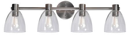 Edis 92094BS 4-Light Vanity Light with 4-Medium Base Sockets  100 Watt Maximum each  6