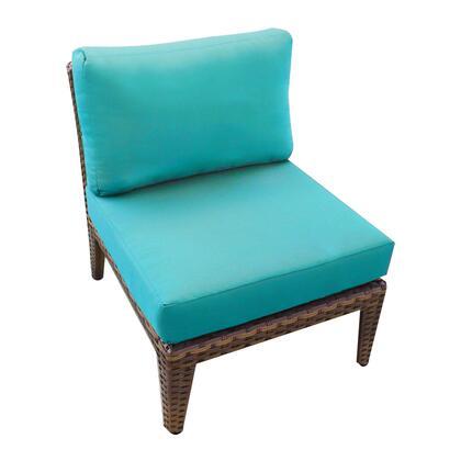 Tkc035b-as-db-aruba Manhattan Armless Sofa 2 Per Box With 2 Covers: Cocoa And