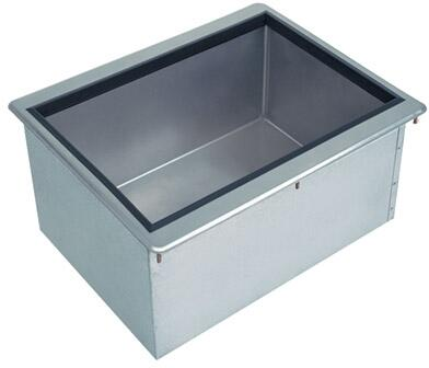 D-30-IBL Drop-In Ice Bin with 62 lb Ice Capacity  in Stainless