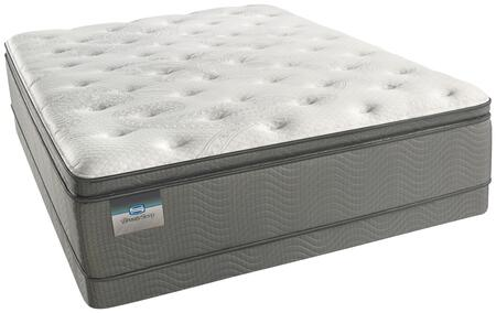 Arlington Collection 700752810-FMFLP Set with Full Size Plush Pillow Top Mattress + Low Profile