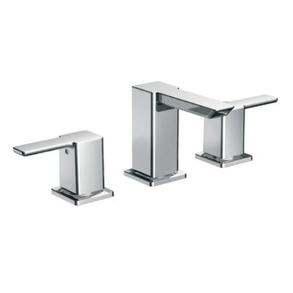 TS6720 90 Degree Chrome Two-handle Low Arc Bathroom