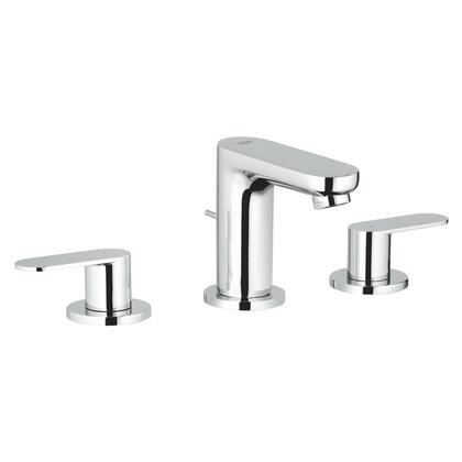 Grohe 2019900A Eurosmart Cosmopolitan Widespread 2-Handle 3-Hole Bathroom Faucet