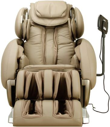 Infinity IT-8500TB Massage Chair with Headphone Port  Four-Wheel Massage Mechanism  Spinal Correction  Accu-Roll Shoulder Massage and Synthetic Leather