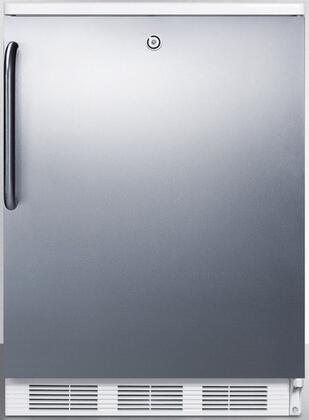 CT66LSSTB 24 inch  CT66J Series Medical Compact Refrigerator with 5.1 cu. ft. Capacity  Factory Installed Lock  Interior Light  Adjustable Thermostat  Clear Crisper