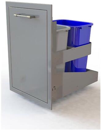 AXETC2D 26 inch  Dual Trash Center/Recycling