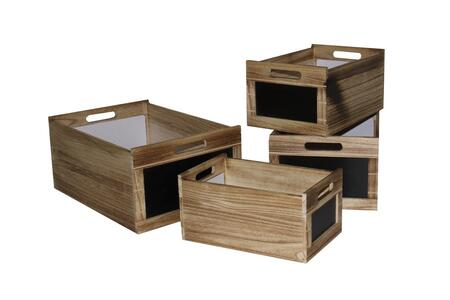 Storage Box Set with Chalkboard (Set of 2) SGT45