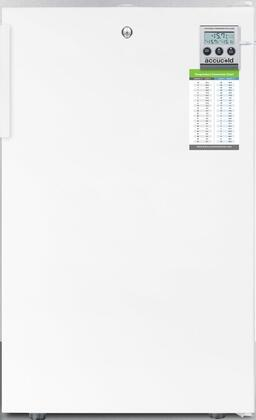 FS407LMEDADA 20 inch  Medically Approved & ADA Compliant Compact Freezer with 2.8 cu. ft. Capacity  Factory Installed Lock  High Temperature Alarm  Hospital Grade
