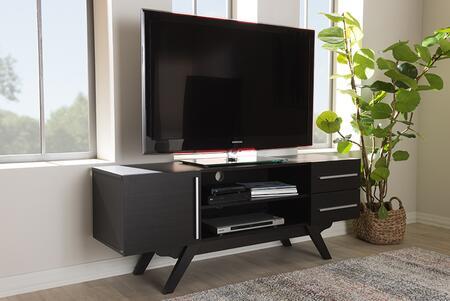 ET 3515-01-DARK BROWN-TV Baxton Studio Ashfield Mid-Century Modern Dark Brown Finished Wood TV