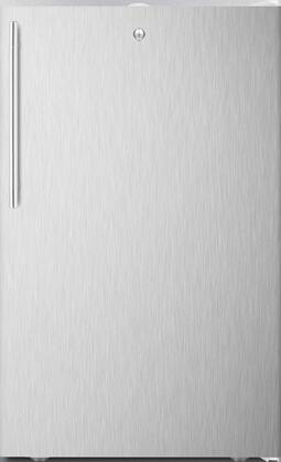 FS407L7BISSHVADA 20 inch  ADA Compliant Upright Freezer with 2.8 cu. ft. Capacity  4 Pull-Out Storage Drawers  Reversible Door  Factory Installed Lock and Manual