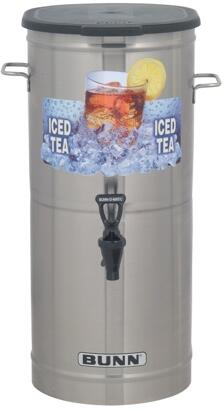 37750.0000 TCD-1 Tea Concentrate Dispenser With 1 Nozzle  Solid Lid  Side Off-Set Handles  Built-in Pressure Regulator  in