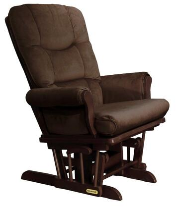 37537KD.02.0188 Shermag Sleigh Style Reclining Glider  with Locking