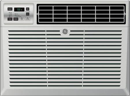 AEM14AX 24 inch  Window Air Conditioner with 14300 Cooling BTU  Energy Star Qualified  EZ Mount  Fixed Chassis  3 Fan Speed  Electronic Digital Thermostat  in Light