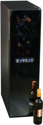 WC18MG 15 inch  Wine Cellar with 18 Bottle Capacity  Dual Zone  Interior Lighting  Digital Temperature Display  in