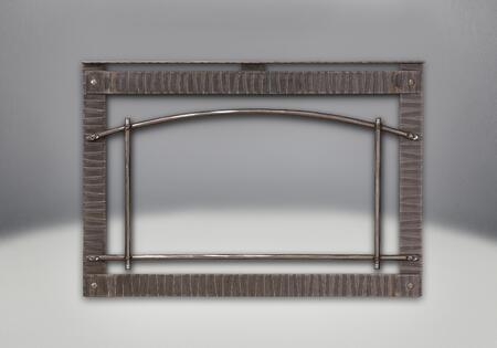I3DPSSB Premium Wrought Iron Scalloped Artisan Steel Door with Safety