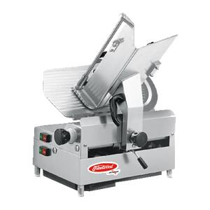 1212E Automatic Slicer with 12 Blade  1/2 HP Blade Horsepower and 45 Degree Stroke Carriage in Stainless